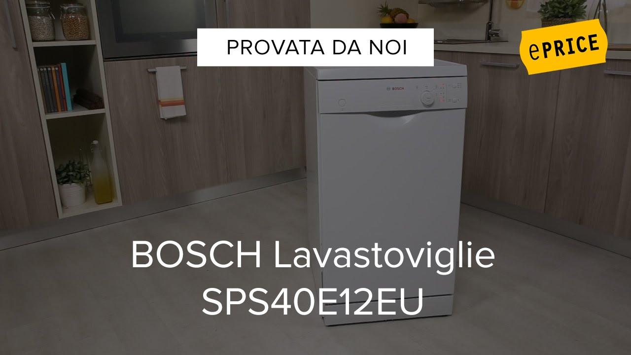 Video Recensione Lavastoviglie Bosch SPS40E12EU - YouTube