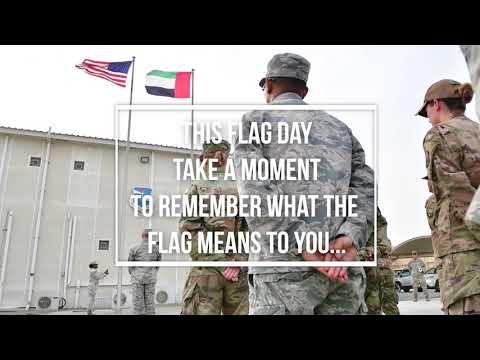 DFN:Package: U.S. National Flag Day 2018, UNITED ARAB EMIRATES, 04.19.2018