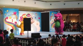 Barney & Friends Live Show at City Square Mall, Singapore! (I Love You!)