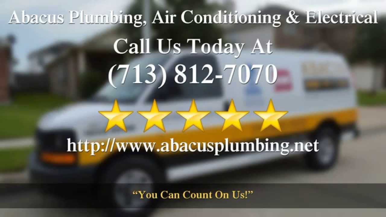 Abacus Plumbing Air Conditioning  Electrical Houston