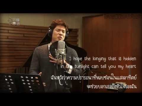 [iamThaiSub] 2AM Changmin - Moment (OST) Live @ C-RADIO Idol True Color ep.8