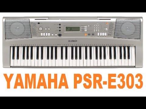 yamaha psr e303 an ideal student keyboard youtube rh youtube com Ritmos Para Teclados Yamaha Bajo Yamaha