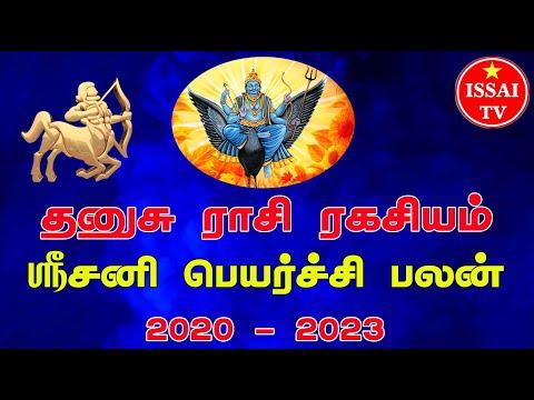Dhanasu Rasi Sani Peyarchi Palangal 2020 - 2023 , தனுசு ராசி சனிபெயர்ச்சி பலன்கள் 2020 - 2023