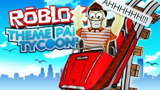 Roblox Adventures / Theme Park Tycoon 2 / WORLD'S TALLEST ROLLER COASTER!