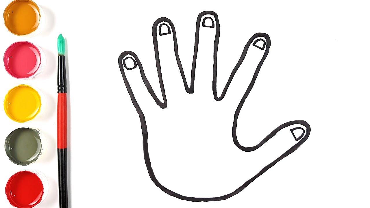 Download Dessin facile à la main étape par étape - comment dessiner une main