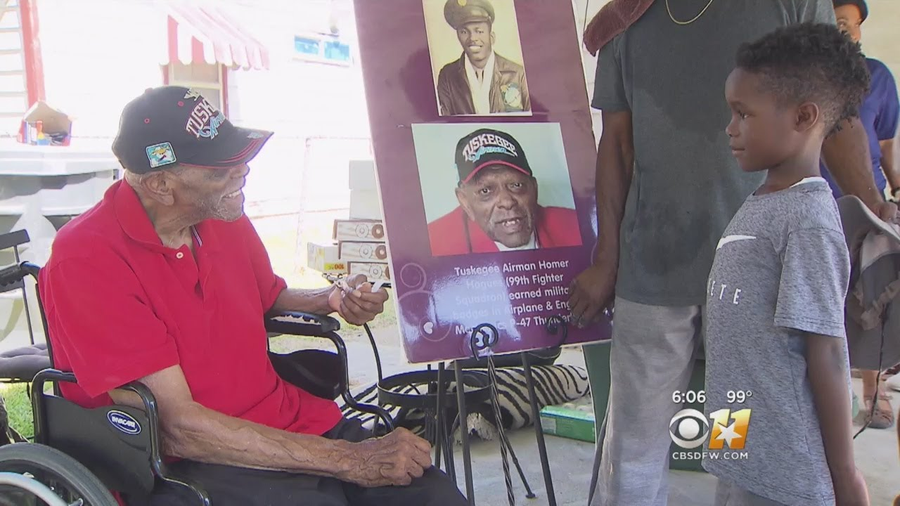 Black Community Comes Through For Humble Hero: Tuskegee Airman's Home Gets Needed Updates