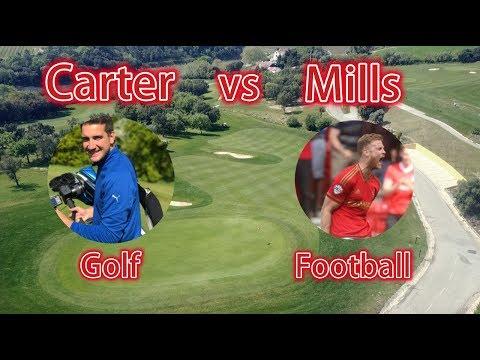 Golf vs Football! Carter vs Mills! Pro vs Pro!