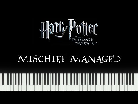 Harry Potter 3 - Mischief Managed / The Firebolt (Synthesia Piano) mp3