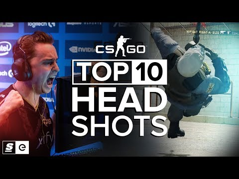 The Top 10 Headshots in CS:GO