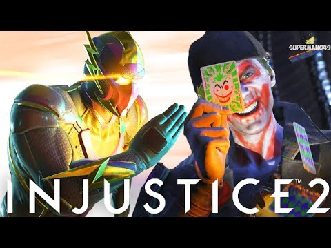 """2 OF THE MOST FUN CHARACTERS IN INJUSTICE 2! - Injustice 2 """"The Flash"""" & """"The Joker"""" Gameplay"""