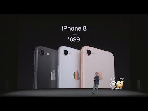 Apple Releases iPhoneX & iPhone 8 Models
