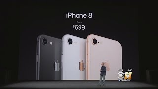 Apple Releases iPhoneX & iPhone 8 Models
