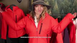 Eddie Bauer Evertherm Down Jacket with Lynsey Dyer