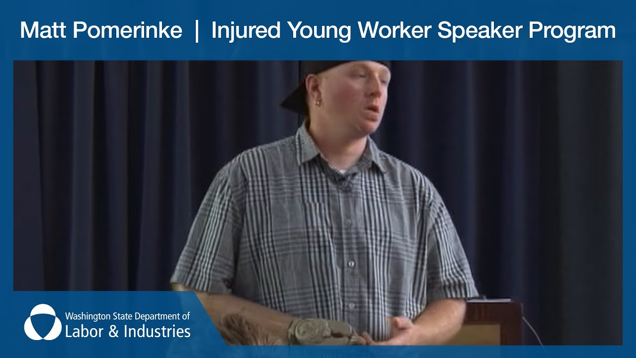 Matt Pomerinke talks about L&I's Injured Young Worker ...