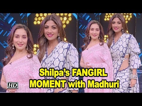 Shilpa's FANGIRL MOMENT with Madhuri Mp3