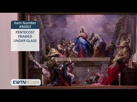 86003_PENTECOST FRAMED UNDER GLASS