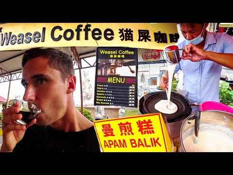 Malaysia's BEST snack & Poop Coffee!? | Perak, Sitiawan with a Local Vlog 2020