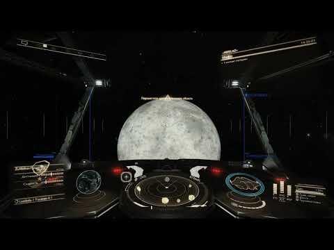 EliteDangerous-старт-гиперпрыжок-посадка на планетную станцию