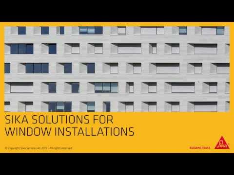 Sika Window Installation Solution