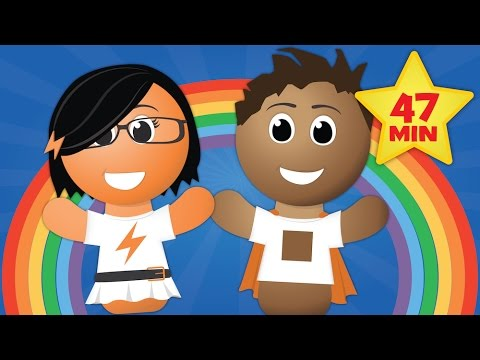 Seasons Song (More SCIENCE SONGS & ALPHABET SONGS - Over 47 Minutes of Kids Songs)
