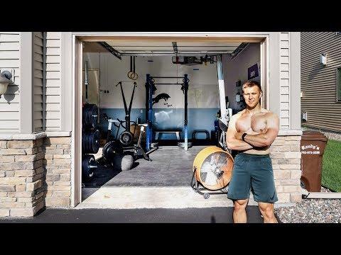 Awesome Budget CrossFit Garage Gym Walkthrough