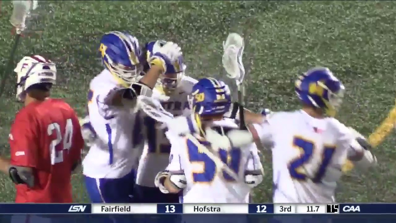 MLAX: Hofstra vs. Fairfield Highlights (4/30/21)