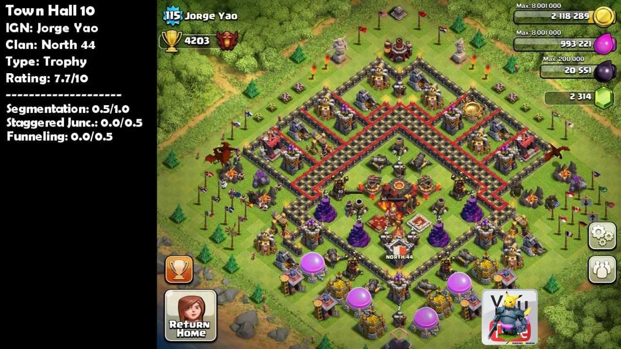 Clash of clans 2000 subscriber bonus top 5 base design vol 2 ft