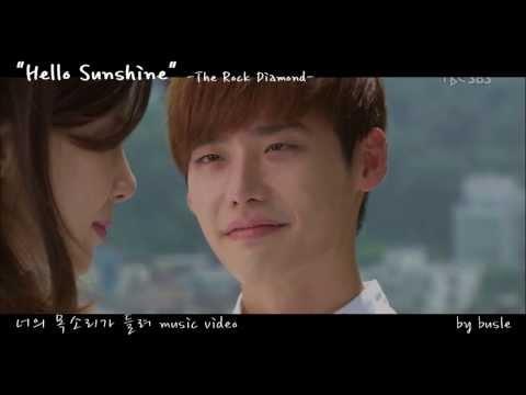 """너의 목소리가 들려 M/V """" Hello Sunshine"""" -The Rock Diamond- 이종석 Lee Jong Suk 이보영"""