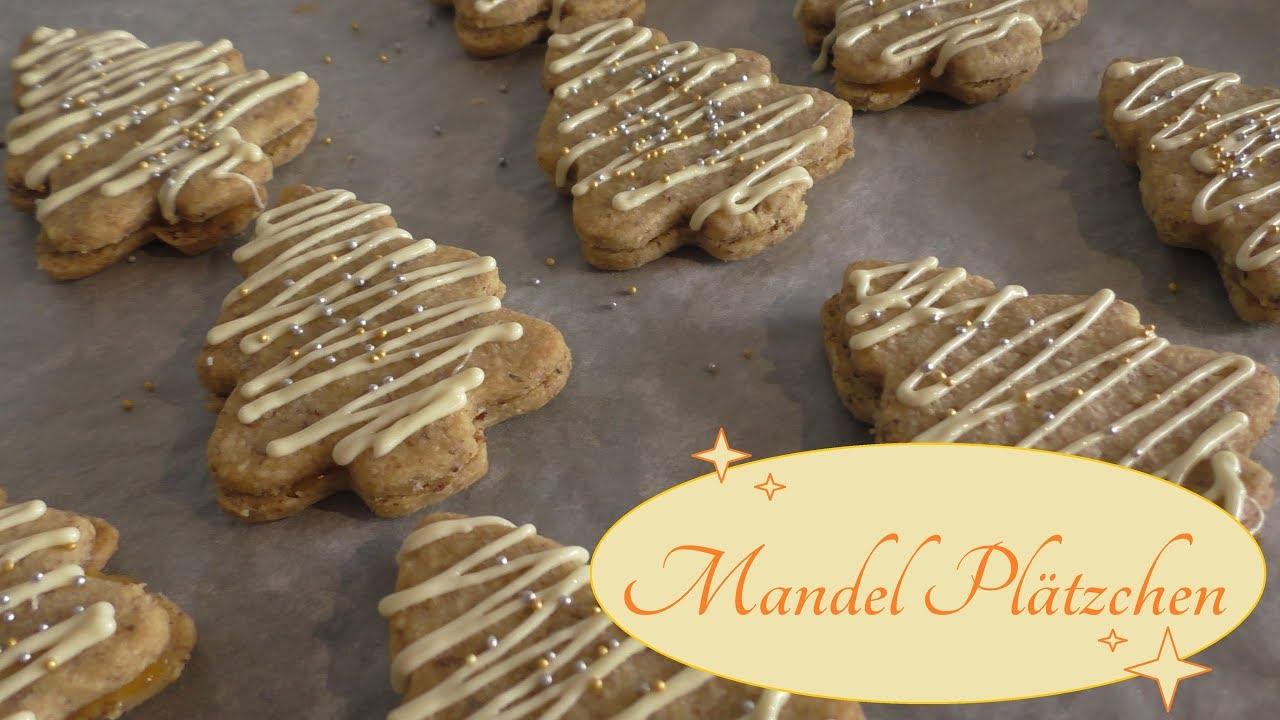 Schnelle Weihnachtskekse.Mandel Plätzchen Weihnachtskekse Keks Rezept Schnelle Und Einfach