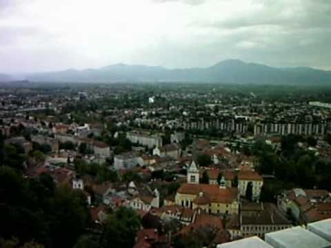 Ljubljana (visiting Slovenia  in 2010)