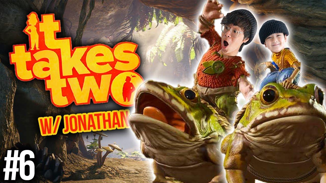 WE GOT PET FROGSS!! | It Takes Two w/ Jonathan (Pt 6)