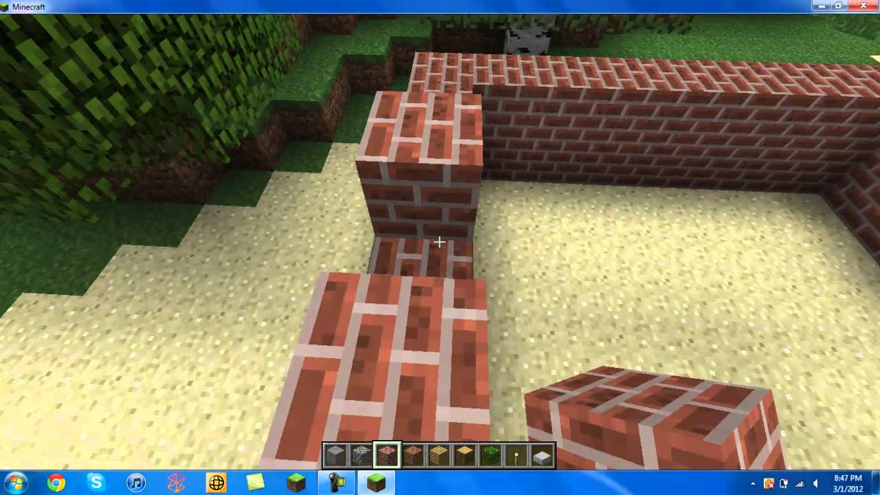 How To Build A Simple House On MineCraft (For Beginners ...