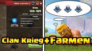 Live Clan Krieg | Live Clankriegs Planung + Angriffe | Farmen | DLZ vs OH | Clash of Clans Live