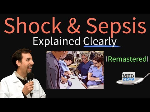 Shock and Sepsis Explained Clearly Remastered Symptoms Causes Diagnosis Pathophysiology