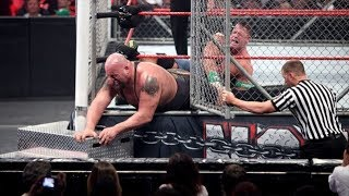 JOHN CENA VS BIGSHOW STEEL CAGE MATCH JOHN CENA ALMOST LOSES THIS MATCH BUT