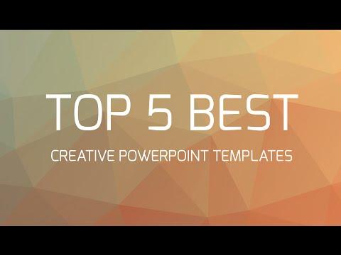 Top 5 Best Creative Powerpoint Templates