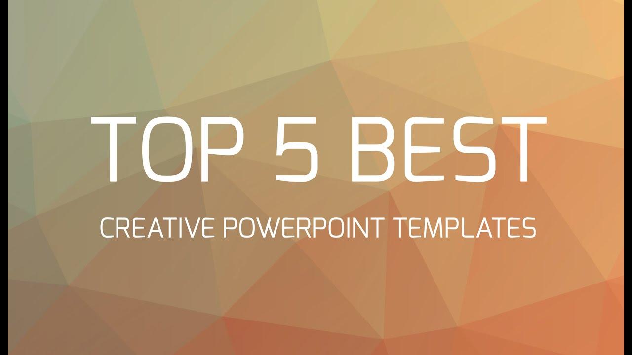 top 5 best creative