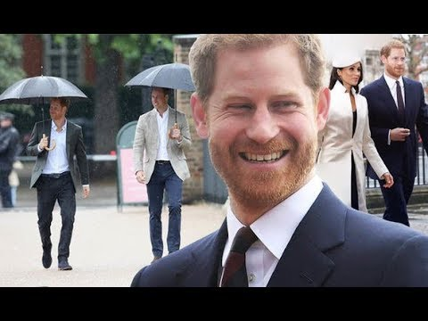 Prince Harry is shorter than Prince William but smaller than Meghan Markle?