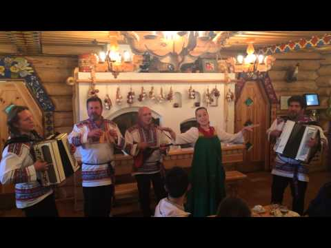 Russian Folk Group Restaurant Podvorye