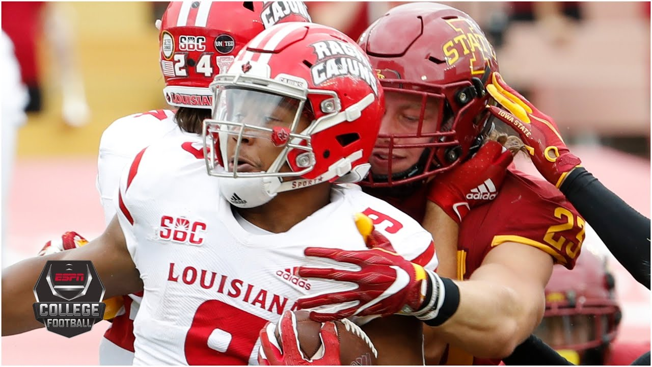 Louisiana-Lafayette vs. Iowa State | 2020 College Football Highlights
