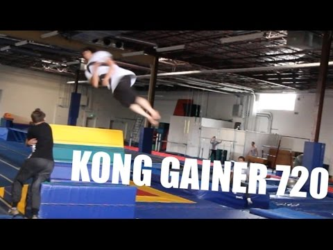 Calen's Training KONG GAINER 720's.....