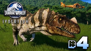 GENETICALLY IMPROVED DINOSAURS! - Jurassic World Evolution | Ep4