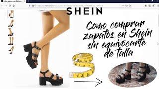 Shein Como Elegir La Talla De Zapatos Ideal Para Ti La Verdad Noticias