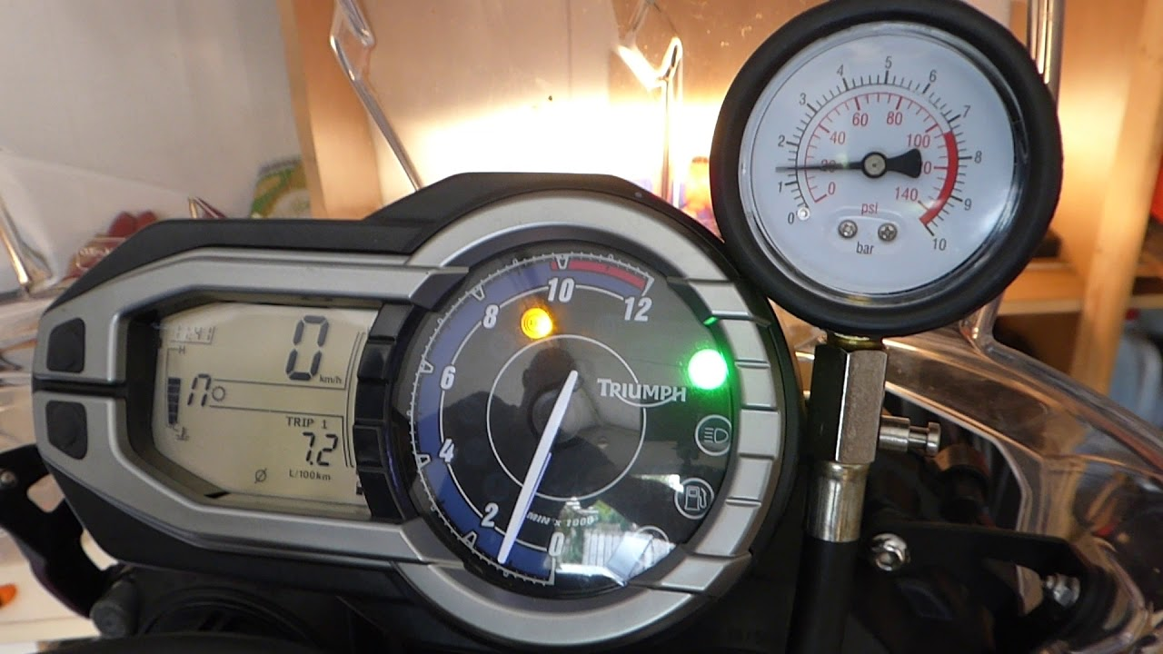Triumph Tiger 800 Low Oil Pressure At Idle Part 2 Youtube
