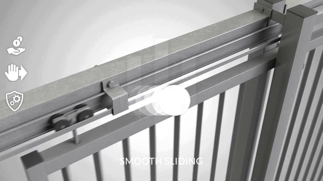 Ugglan Manual Sliding Gate Demex Ab Youtube