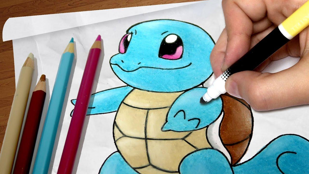 Como Desenhar O Squirtle Pokemon Passo A Passo 73 Youtube