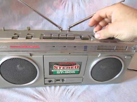 AIMOR ST-805sl boombox ghettoblaster hi-fi radio stereo hifi cassette