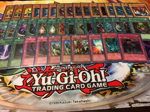 Yu-Gi-Oh! Old School Deck Profile From 2003: Legendary Fisherman Deck!!
