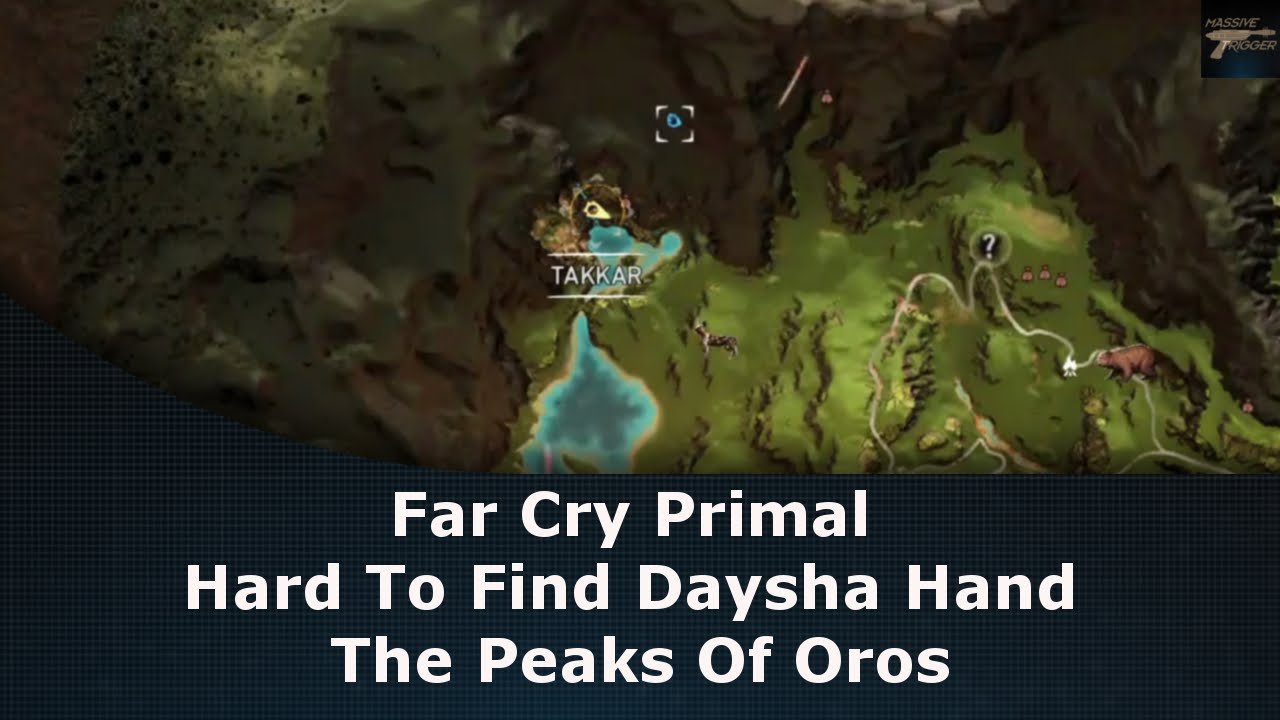 Far Cry Primal Hard To Find Daysha Hand The Peaks Of Oros Youtube