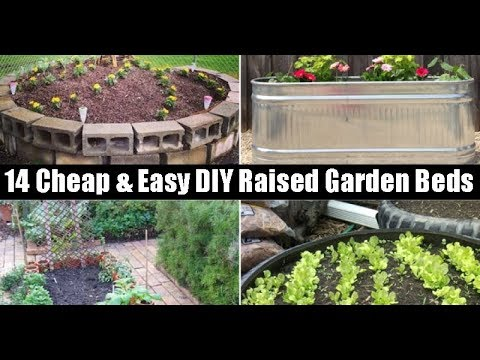 14 Cheap Amp Easy Diy Raised Garden Beds Youtube